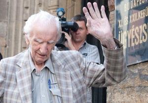 98-летний венгр обвиняется в нацистских преступлениях
