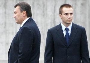 Корреспондент объяснил, почему сын Януковича вошел в пятерку самых влиятельных украинцев