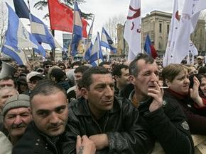 Грузинская оппозиция добилась трансляции митингов в телеэфире