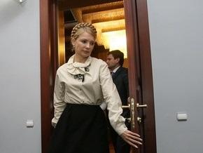 Тимошенко соберет правительство за закрытыми дверями
