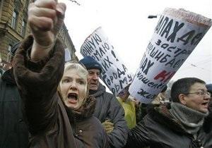 Опрос: Треть россиян считают, что в ближайшее время будет запрещена любая критика власти