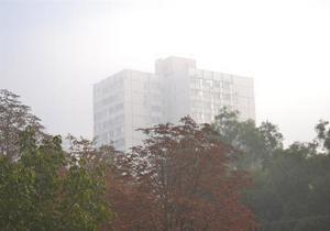 Вследствие масштабного пожара на острове Белгородский Одессу накрыло облако дыма