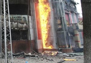 В Кыргызстане подожгли дома братьев Бакиева