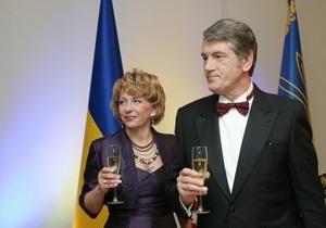 Главы иностранных государств поздравили Ющенко
