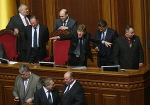 Комендант палаточного городка под Печерским судом вышел из фракции БЮТ