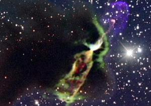 Телескоп ALMA сделал снимки потоков вещества, выбрасываемого новорожденными звездами