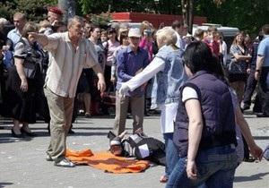 В больницах остаются 22 пострадавших в результате взрывов в Днепропетровске