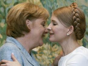 Тимошенко поздравила Меркель с переизбранием на должность Федерального канцлера Германии