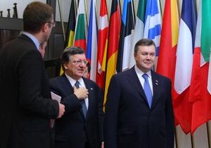 Судьба ассоциации: Янукович и лидеры ЕС подписали совместное заявление