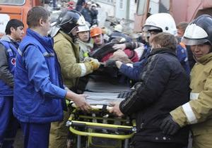 В России взорвался жилой дом, спасатели достают людей из-под завалов