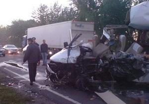 Среди жертв крупного ДТП на трассе Киев - Харьков есть граждане Польши