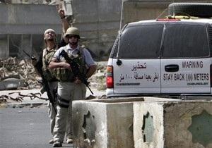 Иракское правительство высылает из страны охранников Blackwater