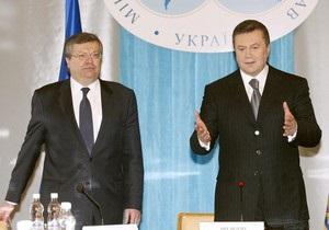 Янукович поручил к приезду Медведева подготовить новый газовый контракт