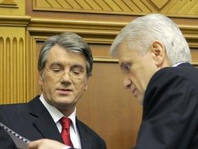 Литвин: Президента не устраивает работающая Рада