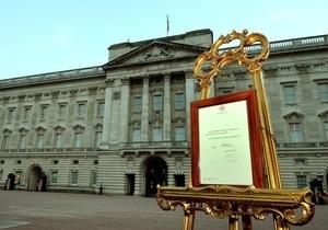 Кенсингтонский дворец нетрадиционно оповестил о рождении наследника британского престола