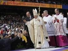57 тысяч человек пришли послушать мессу Папы Римского в Нью-Йорке