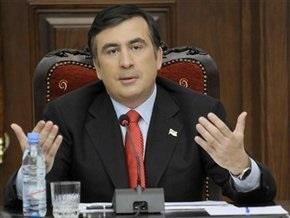 Саакашвили: Переживания за страну могут заставить съесть собственный галстук