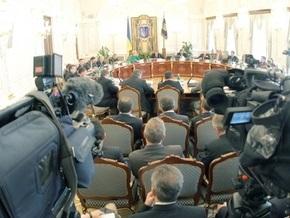 Источник: Заседание СНБО по газовой тематике отменили