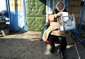 Фотогалерея: Голосование на местах. В Украине состоялись выборы в местные органы власти