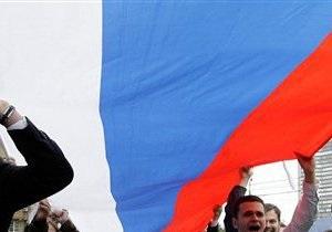Сегодня на Русском марше дончане скандировали  Донецк - сердце России