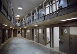 Во Франции началась забастовка тюремных охранников
