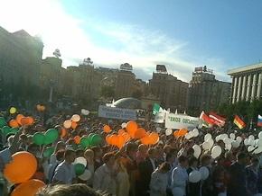 В центре Киева прошел марш Посольства Божьего