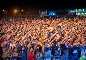 Фестиваль The Best City UA под Днепропетровском посетили 45 тысяч человек