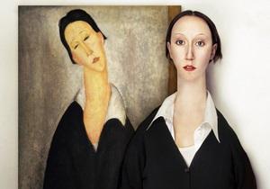 Художница показала, как выглядели бы модели Малевича, Модильяни и Пикассо