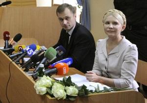 Защитника Тимошенко госпитализировали из-за проблем с сердцем