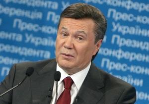 Янукович не уверен, что подозреваемых в преступлениях, не связанных с угрозой жизни и здоровью, стоит содержать под стражей