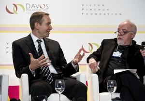 В Давосе обсудили объединение усилий художников и филантропов