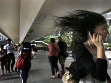 На Гонконг надвигается тайфун
