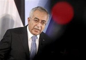 На территории резиденции премьера Палестины произошла перестрелка
