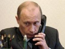 Ющенко созвонился с Путиным по поводу газа