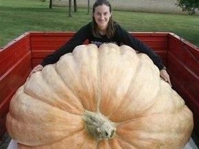Американка вырастила тыкву весом 782,5 кг