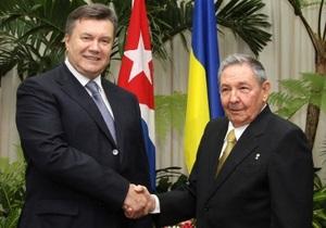 Рауль Кастро посетит Украину в этом году