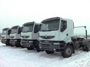 Первая поставка грузовиков Renault Kerax в Казахстане