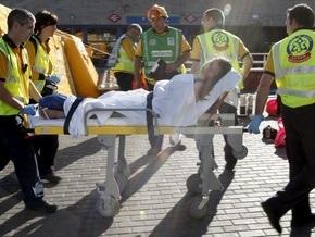 В результате столкновения электричек в Мадриде пострадали 57 человек