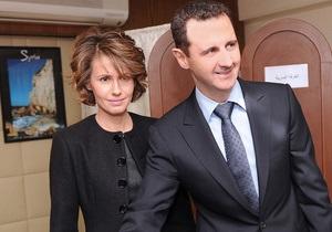 Жену Асада добавят в  черный список  Евросоюза