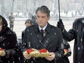 Ющенко снял с россиян ответственность за Голодомор