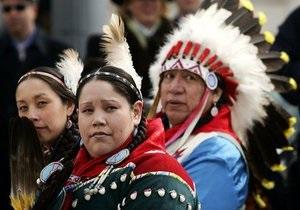 Власти США выплатят компенсацию индейцам за использование их земель