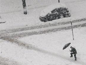 Сильные снегопады парализовали Средний Запад США