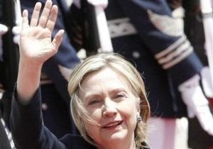 Хиллари Клинтон встретит День независимости США в Киеве