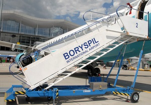 В аэропорту Борисполя самолет совершил вынужденную посадку