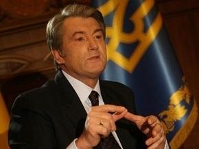 Ющенко попросил Медведько оценить действия Беркута в Мирном