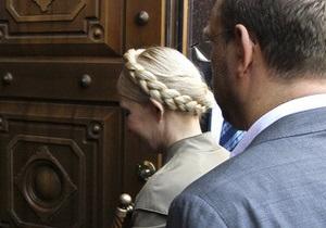 Тимошенко предъявили обвинение, но арестовывать не будут