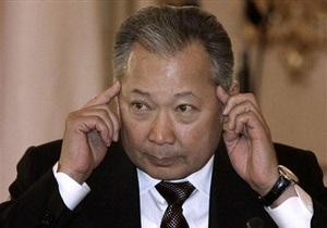 СМИ: Бакиев находится на юге Кыргызстана