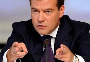 Медведев предполагает, что террористы планировали сорвать его поездку в Давос