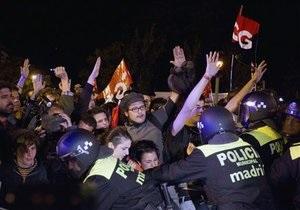 В Испании началась общенациональная забастовка против мер строгой экономии