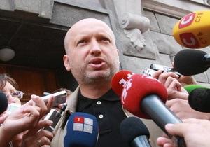 Турчинов ждет оглашения приговора Тимошенко завтра